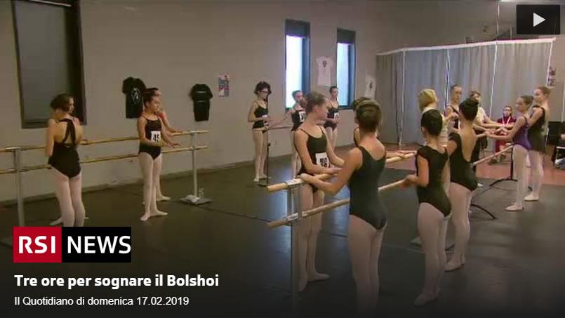 Audition Bolshoi Ballet Lugano